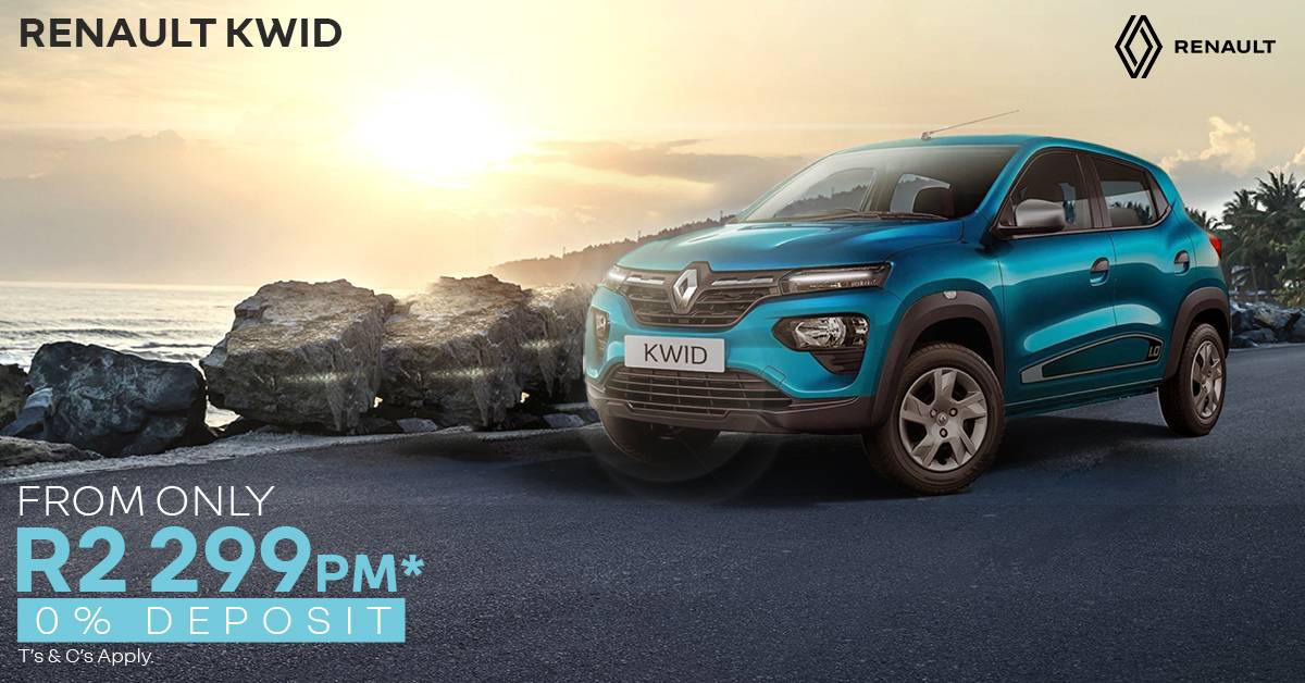 Renault Kwid | From Only R2,199 pm