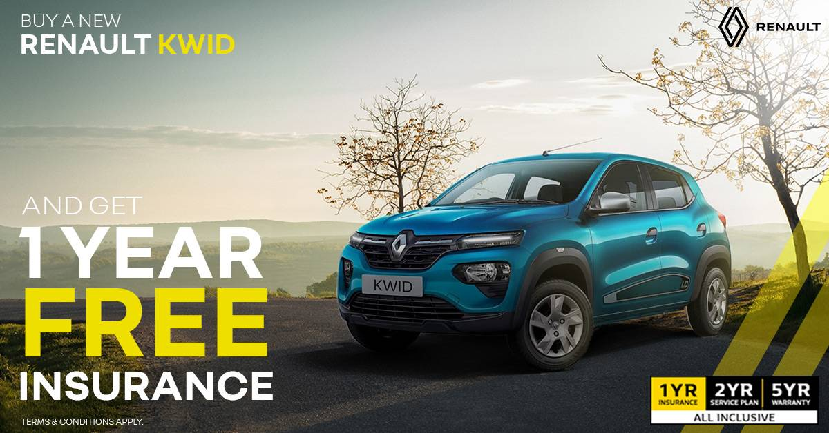 Renault Kwid | From Only R2,299 pm