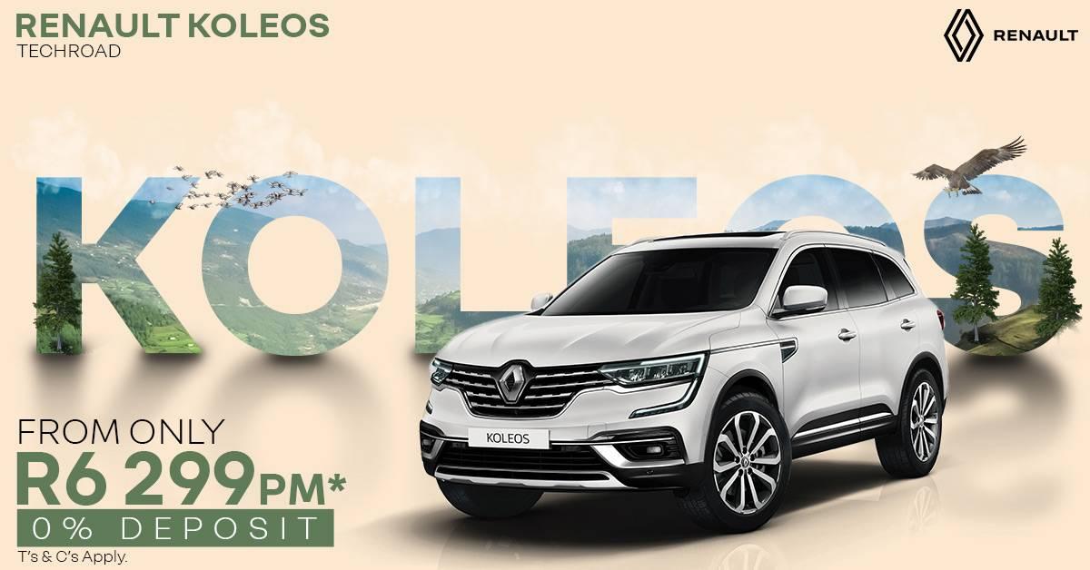 The all new Renault Koleos