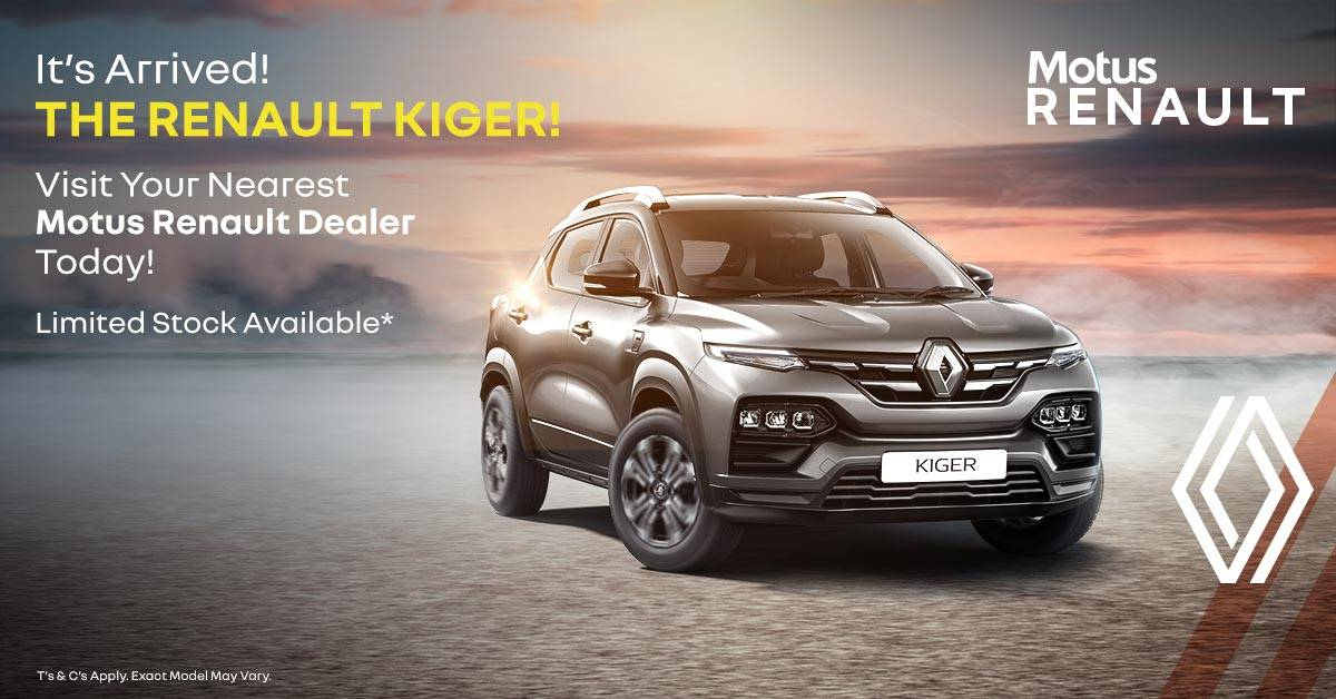 Has Arrived At A Motus Renault Dealer Near You!