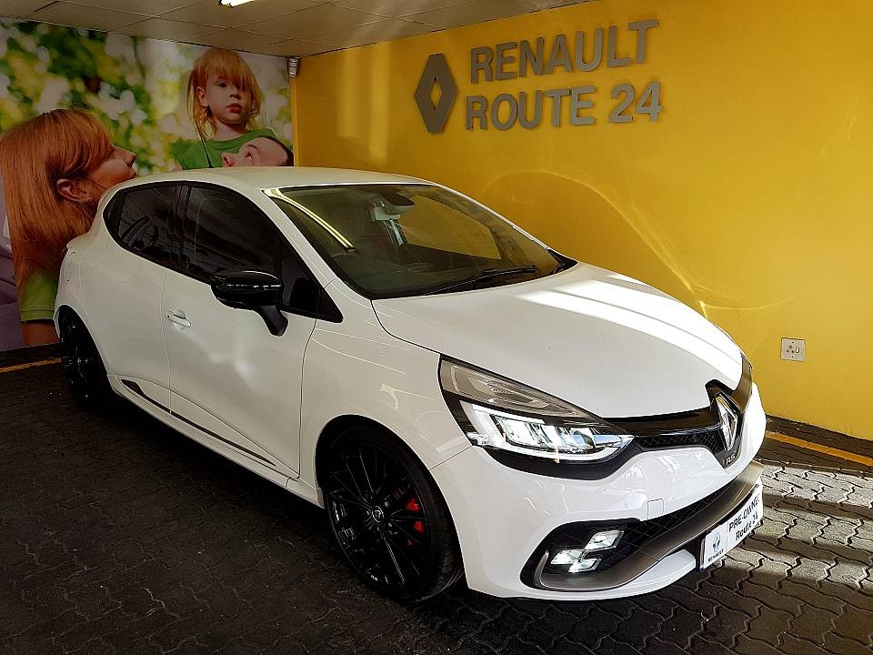 renault route24 used 2018 clio rs 200 edc trophy for sale in kempton park. Black Bedroom Furniture Sets. Home Design Ideas
