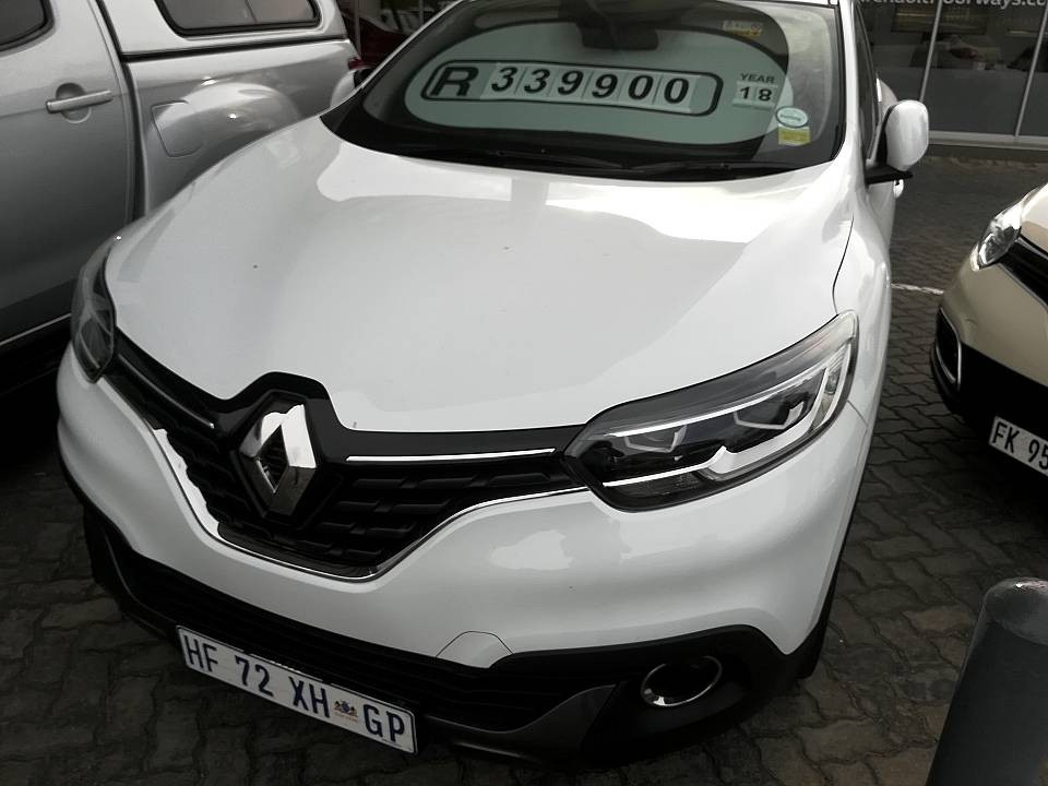 Used 2018 Kadjar 1 2 Turbo Dynamique Edc For Sale In