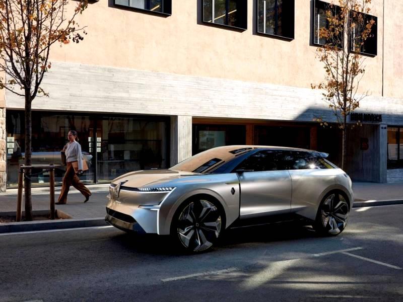 Renault unveils its MORPHOZ electric concept car