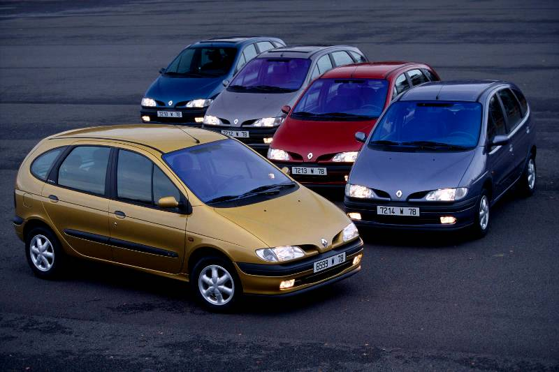 In 1991, Renault presents the Scenic concept car, a.k.a.