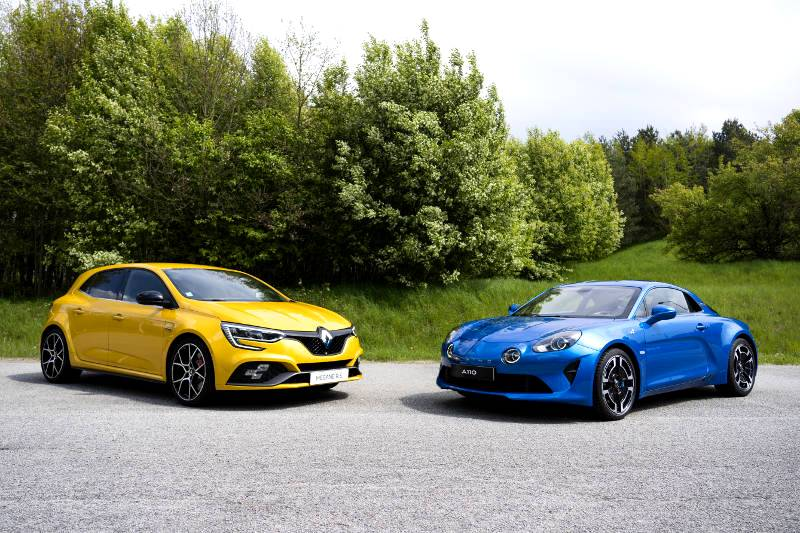 RENAULT SPORT CARS BECOMES ALPINE CARS