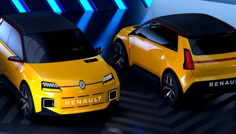 Renault 5 electric cars will make their grand entry as part of Renault's Nouvelle Vague